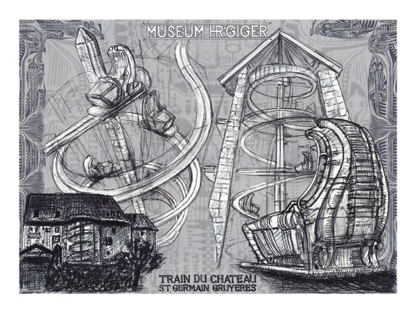 Projects of H.R.Giger
